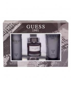 Guess Guess 1981 Woda Toaletowa 100 ml +Żel Pod Prysznic 200 ml + Dezodorant 226 ml