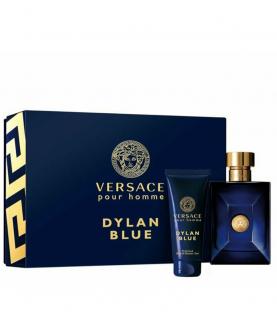 Versace Dylan Blue Woda Toaletowa 100 ml + Żel pod Prysznic 100 ml Zestaw
