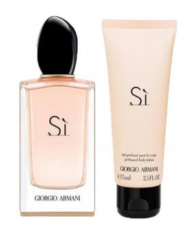 Giorgio Armani Si Woda Perfumowana 100 ml + Balsam 75 ml Zestaw