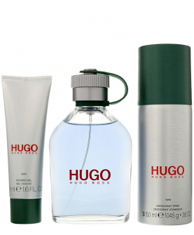Hugo Boss Hugo Man Woda Toaletowa 125 ml + Dezodorant Spray 150 ml + Żel Pod Prysznic 50 ml Zestaw