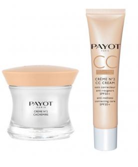 Payot Creme No2 Cachemire Krem na Dzień 50 ml + CC Cream SPF 50+ 40 ml Zestaw