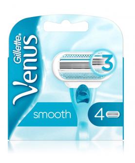 Gillette Venus Smoth Wkład do Maszynki 4 szt