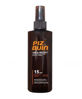 Preparat do opalania ciała PIZ BUIN Tan & Protect Tan Accelerating Oil Spray 150 ml