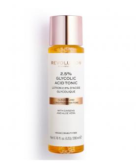 Makeup Revolution London 2,5% Glycolic Acid Tonic Tonik do Twarzy 200 ml