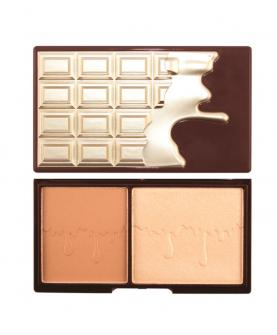 Makeup Revolution London Bronze And Glow Paleta do Konturowania 11 g