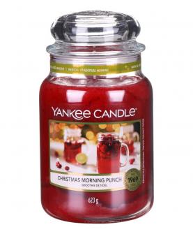 Yankee Candle Christmas Morning Punch Świeczka Zapachowa 623 g