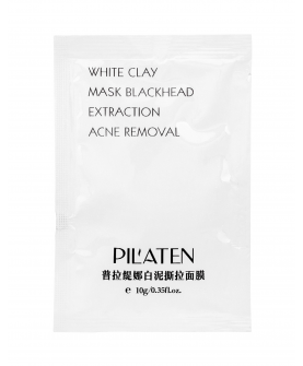 Pilaten White Clay Maseczka do Twarzy 10 ml