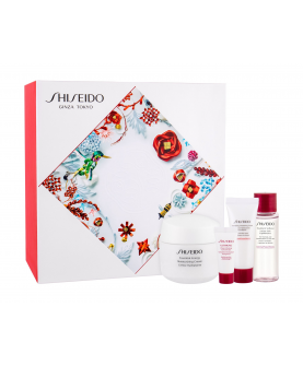 Shiseido Essential Energy Moisturizing Cream Krem Na Dzień 50 ml + Pianka 15 ml + Serum 5 ml + Tonik 30 ml Zestaw